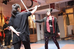 Jenny Wu Lady Bloodfight Martial Arts