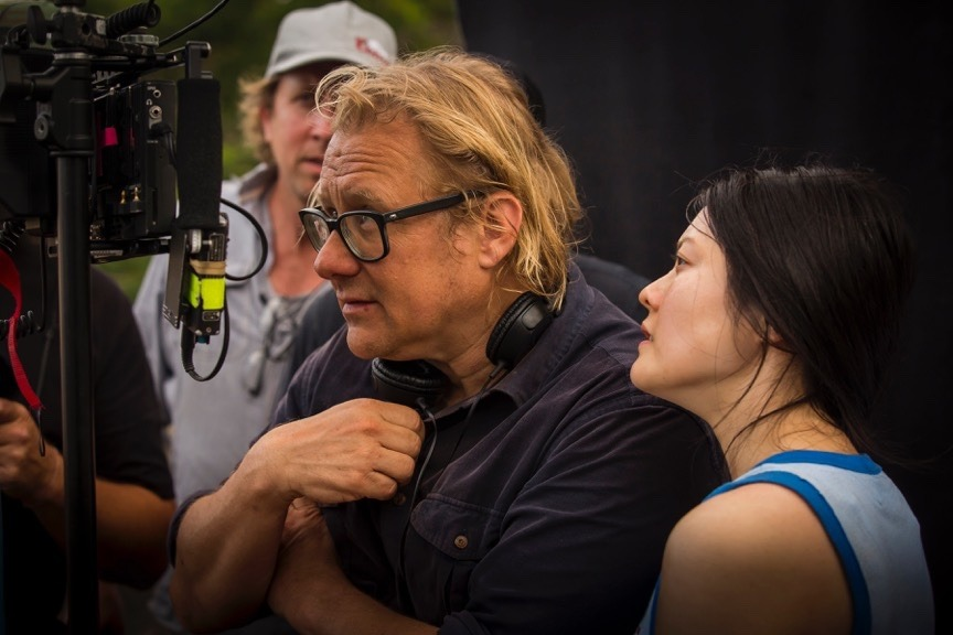 Director Kriv Stenders and Actor Jenny Wu Australia Day Movie