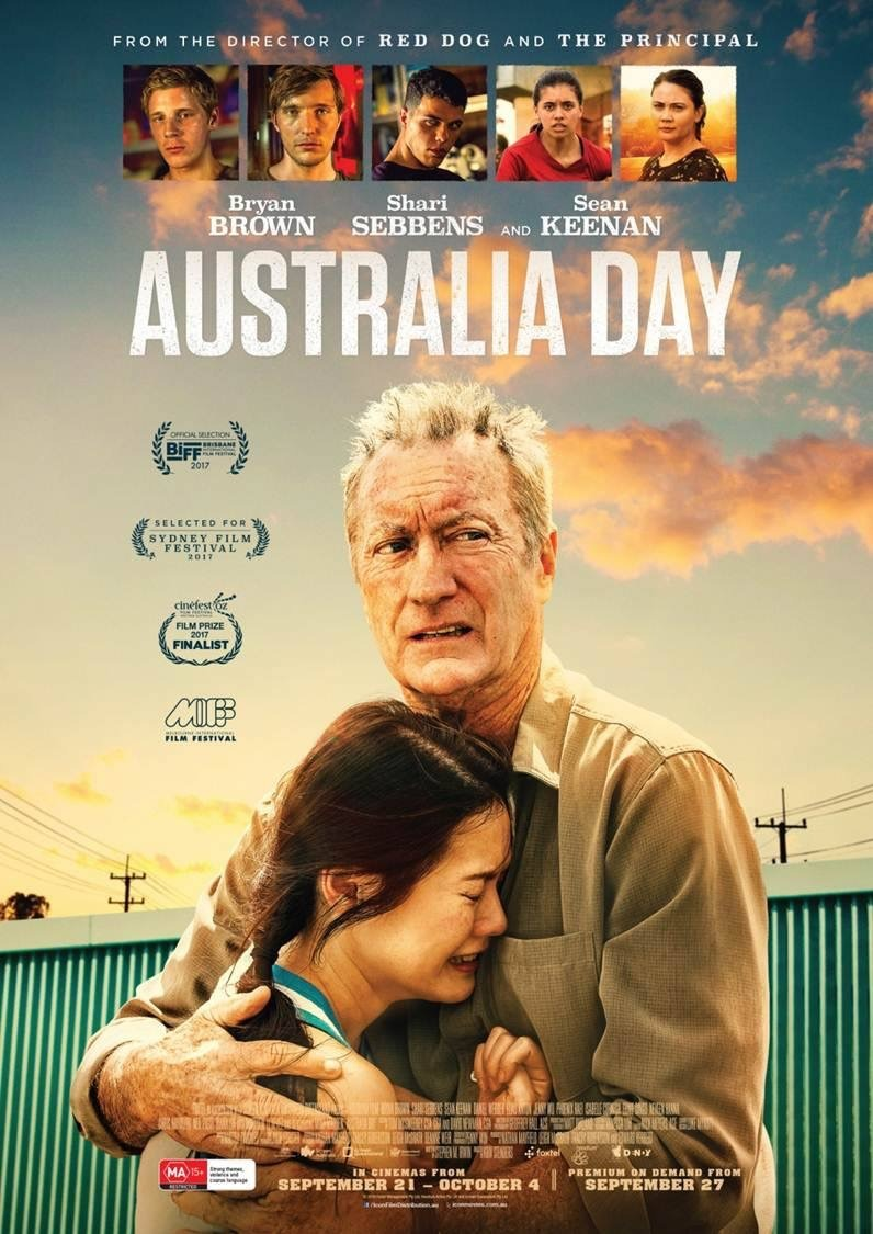 Australia Day Movie Poster Jenny Wu Bryan Brown