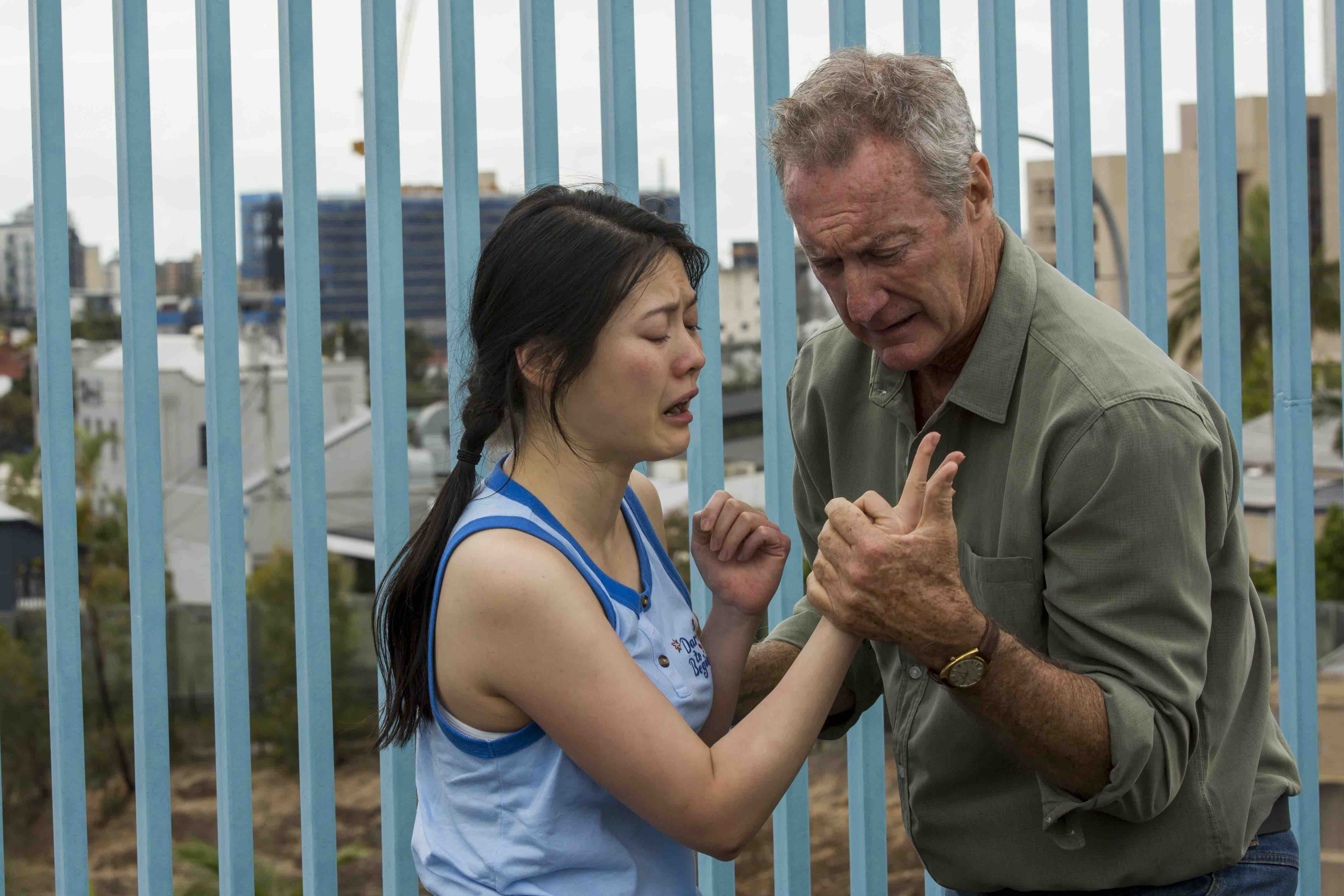 Australia Day actors Bryan Brown Jenny Wu