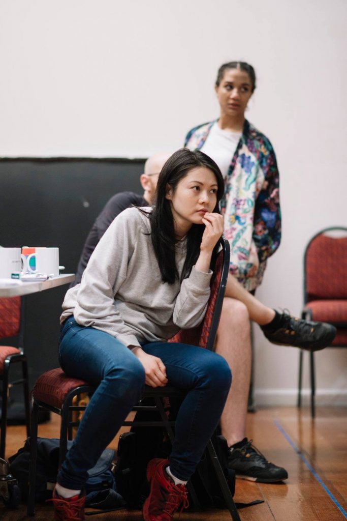 Jenny Wu Actress Going Down STC Malthouse Rehearsals
